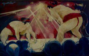 le combat de Sumo